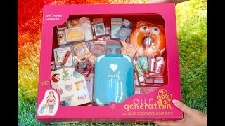 Who Has The BEST 18 Inch Doll Travel Set American Girl Vs Our Generation/My Life/Journey Girl