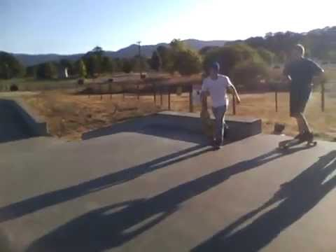 The Willits Skatepark Video
