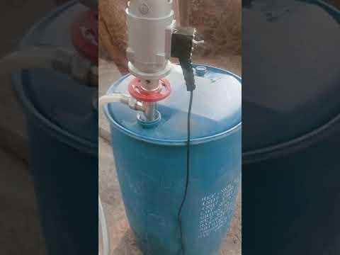 SS Pneumatic Barrel Pump