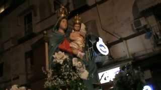preview picture of video 'Madonna Dell'Arco via giacomo leopardi 53 fuorigrotta 6/4/2014'