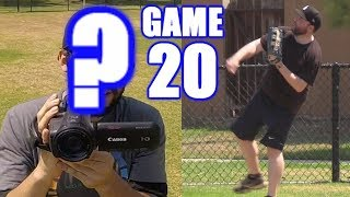 I PLAY LEFT FIELD AND SOMEONE ELSE FILMS! | On-Season Softball Series | Game 20