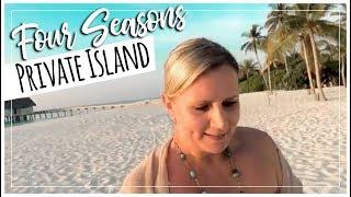 $46,360/night Four Seasons Maldives Private Island