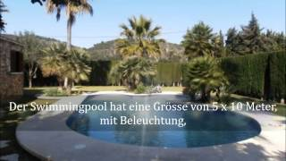 preview picture of video 'Finca Campanet in Moscari zu verkaufen'