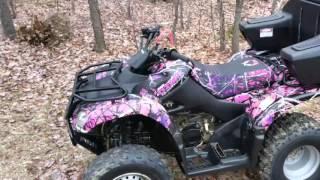 Suzuki Ozark Muddy Girl Camo Birthday Project