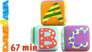 🌈 Learn ABC's and Numbers | Nursery Rhymes and ABC Songs for Kids from Dave and Ava 🌈