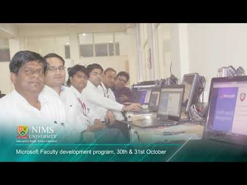 "NIMS University - Faculty Development Program ""Saksham"" - by Microsoft"