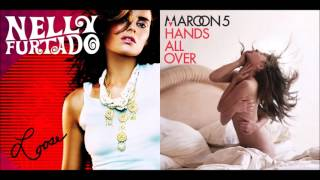 Promiscuous Like Jagger - Nelly Furtado vs. Maroon 5 feat. Christina Aguilera (Mashup)