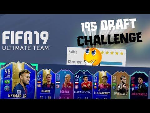 195 DRAFT CHALLENGE!