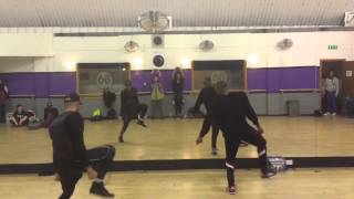 """""""Real One"""" Chris Brown & Tyga Parallel Class preview"""