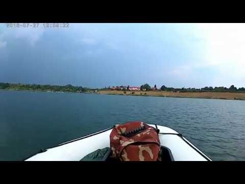 """Schlauchboot """" Navigator III """" mit Elektromotor ( 62 lbs ) und einem 120 Ah - Langzeitakku"""