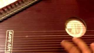 Malkauns: How to Tune Surmandal, swarmandal, harp, Indian Classical