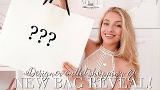 COME DESIGNER OUTLET SHOPPING WITH ME + NEW BAG REVEAL! ~ Freddy My Love