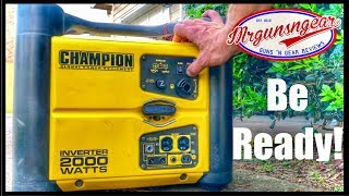 Champion 2000 Watt Stackable Portable Inverter Generator Review