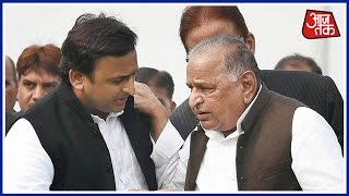 Akhilesh Yadav Meets Father Mulayam Speculations Rife Over Truce In SP