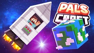 TRAPPED IN SPACE!! | PalsCraft #18