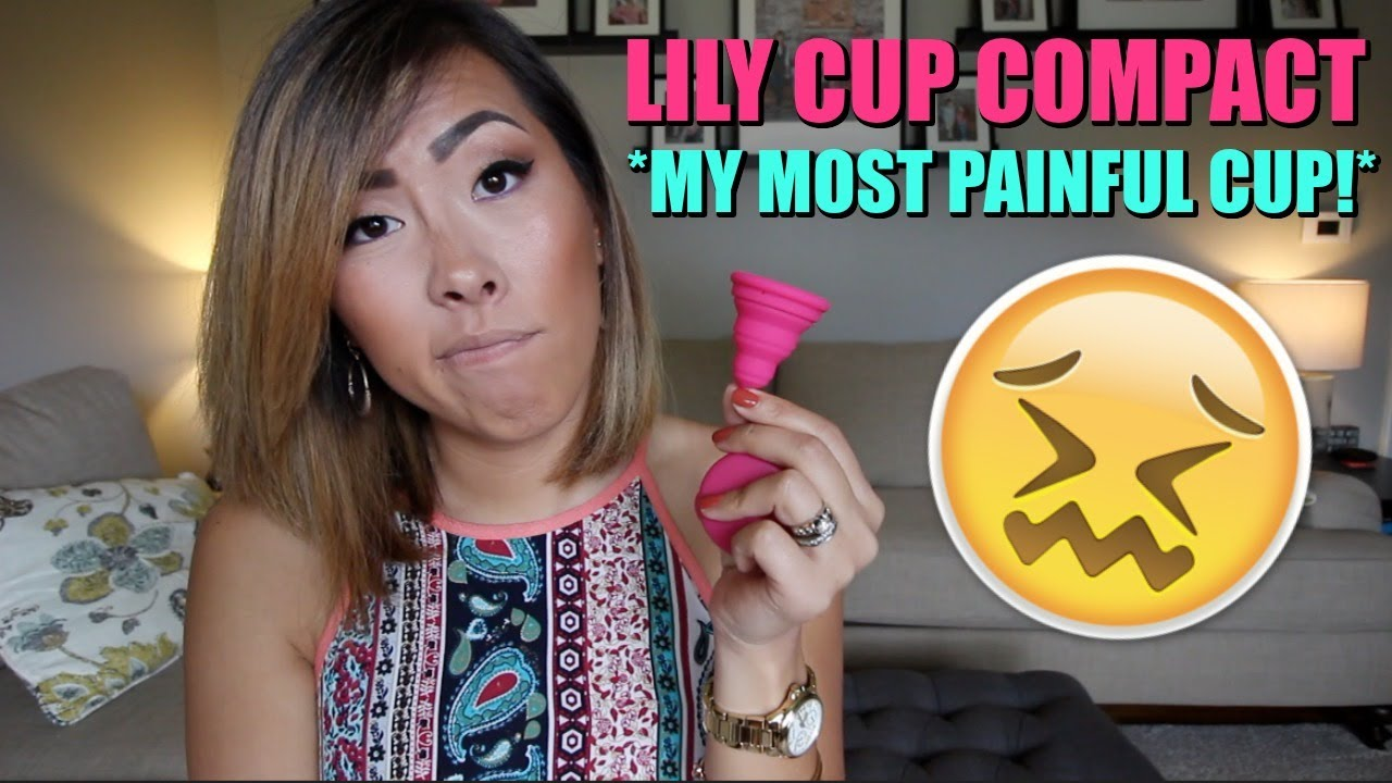 I TRIED THE LILY CUP COMPACT *WARNING REAL BLOOD* | ITSJUSTKELLI