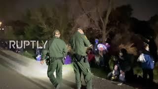 USA: Setki migrantów zatrzymanych przez patrol graniczny
