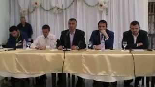 Tribunë Islame ( Flori Kola , Elvis Naci , Ahmed Kalaja , Bilal Teqja ) Farkë Tiranë Prill 2015