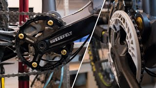 Fahrrad 2 fach Antrieb auf 1 fach umbauen