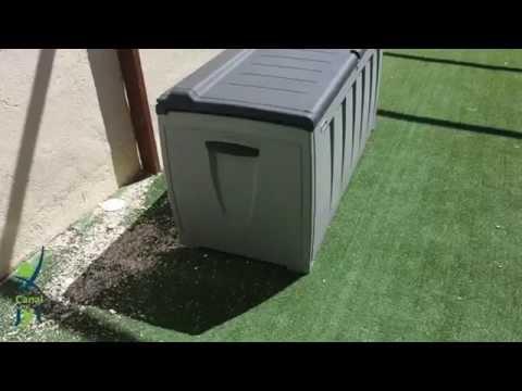 Baúl de jardín   Venta online muebles de jardín