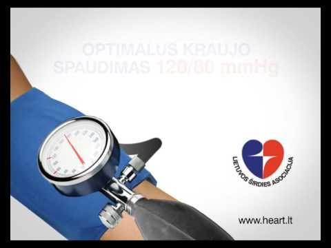 Hipertenzija laipsnis žingsnis