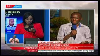 ODM Busia primaries latest results show Paul Otuoma in early lead