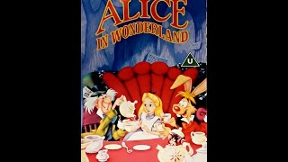 Digitized Opening To Alice In Wonderland (UK VHS   Version 2)