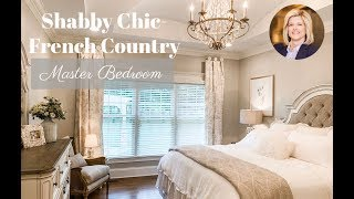 Interior Design| Shabby Chic/Master Bedroom Tour