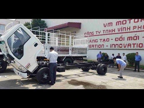 Xe tải Isuzu nâng tải 3,5 tấn VINH PHAT QHR650