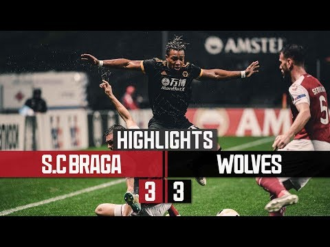 Jimenez, Doherty and Traore on target in Portugal!   Braga 3-3 Wolves   Highlights