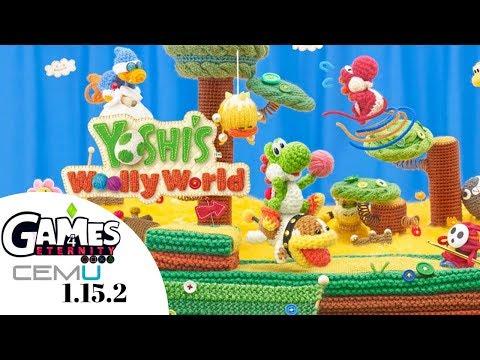 True 4K 60FPS HDR ReShade - Yoshi's Woolly World - Cemu Wii U
