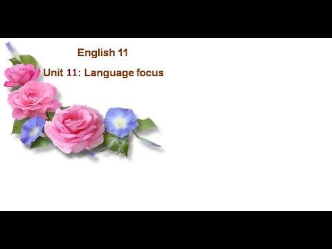 Tiếng anh lớp 11: Unit 11: Language Focus (cô Đinh Thị Ngọc Hân)