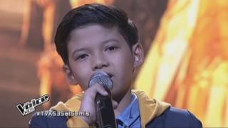 The Voice Kids Season 3 Philippines - ALL PERFORMANCES - Justin John Alva (Team Bamboo/Kamp Kawayan)