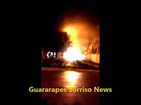 Incêndio em Centro Médico em Birigui