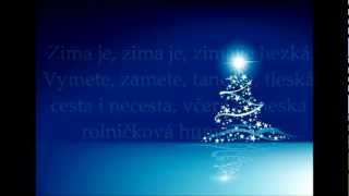 Hana Zagorová-Zima, zima, zima text