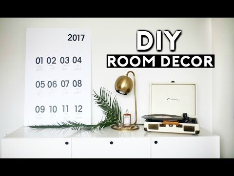 DIY Room Decor Tumblr Inspired! (Dollar Store DIYS for 2017) Easy & Cheap!