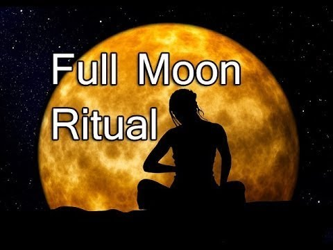 "Full Moon 🌕 Ritual ""Manifestation"""