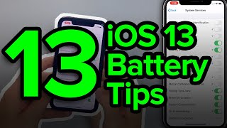 13 iOS 13 iPhone Battery Tips: Best Settings To Turn On & Off
