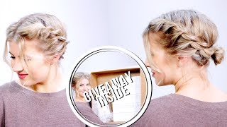How To Style Short Hair Second Day Hairstyle | Milabu