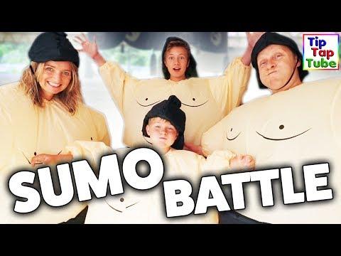 Die SUMO WRESTLER Challenge! Jetzt wird gekämpft! TipTapTube