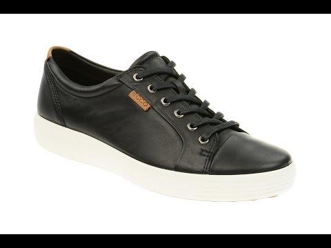 Ecco Soft 7 Schuhe schwarz Herren Sneaker (136-00-0156)