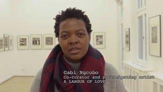 Curator Gabi Ngcobo
