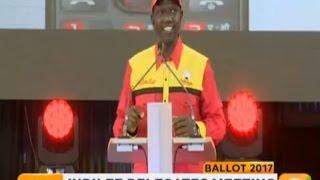Ruto describes opposition as UNITY OF DISORGANIZATION