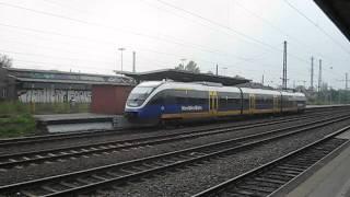 preview picture of video 'Herne Bahnhof - Emschertalbahn der Nordwestbahn'