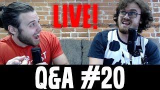 JT Music Q&A #20 - LIVE