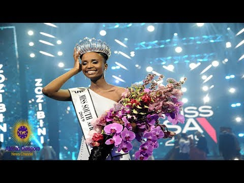 New Miss South Africa Zozibini Tunzi Becomes First Black Woman To Win With Natural Hair