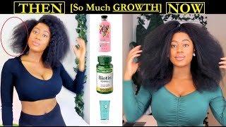 Hair Products That Made My 4C Hair [GROW FASTER], THICKER, and LONGER - Natural Hair