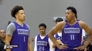 Cade Cunningham & Scottie Barnes BEST DUO in HS?? Montverde Purple & Gold Game Highlights!