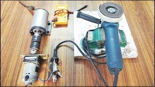 Free Energy Motor Generator Video || It can run Grinder