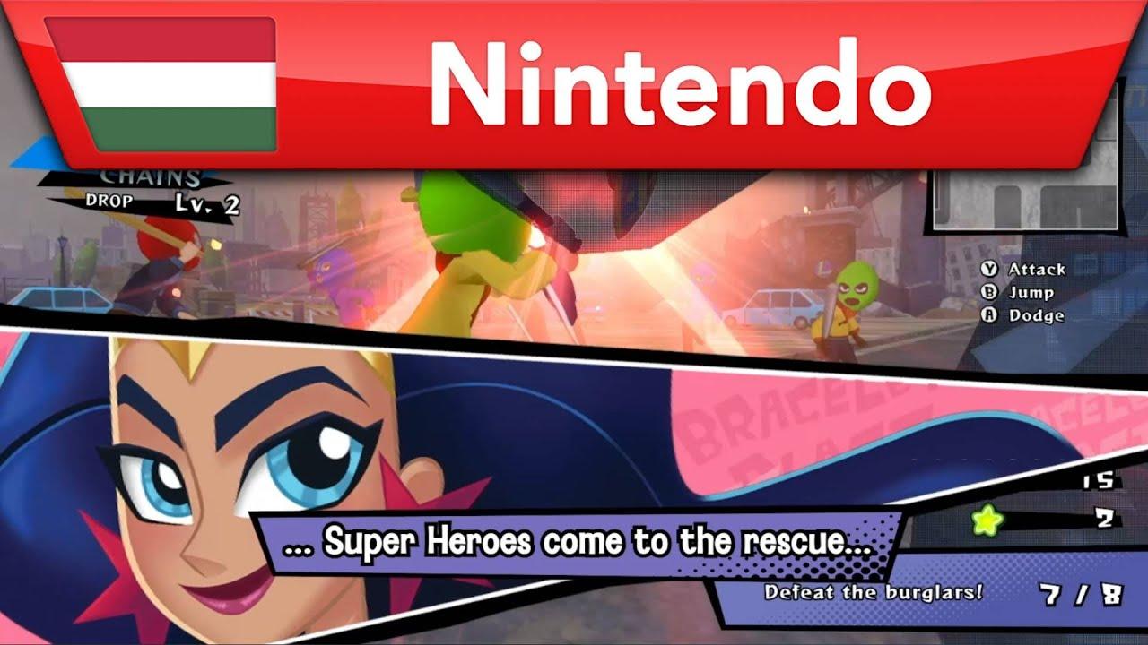 DC Super Hero Girls: Teen Power – Már kapható   Nintendo Switch